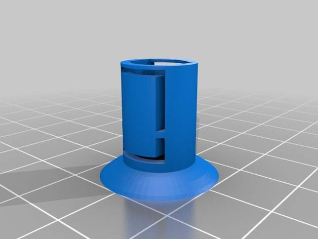 Ford Focus fusebox cover clip by ceesios - ThingiverseThingiverse