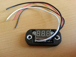 Enclosure for el-cheapo chinese LED ammeters