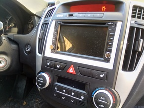 Kia Ceed faceplate for 2din car audio