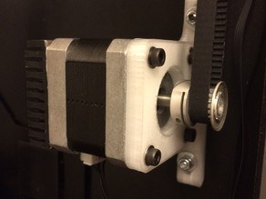Replicator 2x Y Stepper Bracket
