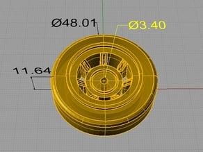 RC car wheel