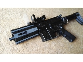Airsoft M4 handguard