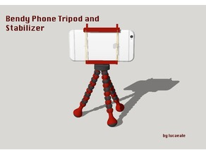 Bendy Phone Tripod and Stabilizer