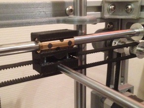 Ultimaker 2 XY bushing slider block