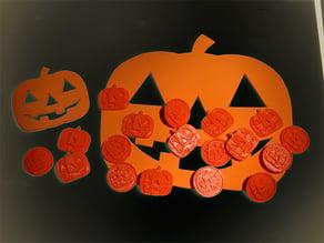 Giova's Pumpkin Badges