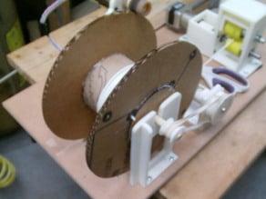 Lyman Cardboard Filament Spool