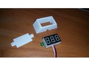 "Cover for 0.36"" LED voltmeter"