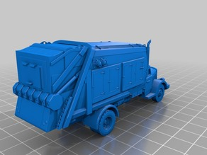 Sci-Fi WW2 German Dieselpunk Truck