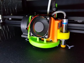fan duct & sensor mount (for ender-4, cr-10, ender-3)