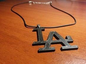 LA LOS ANGELES Necklace