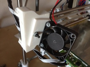 eMaker Huxley Part Cooling Fan Mount