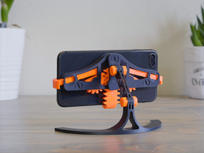Mechanical Quick Grab/Release Phone Stand