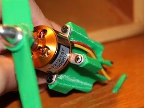 Brushless motor mount