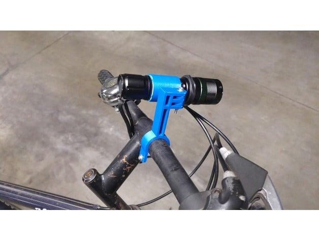 Bicylce light / flashlight holder, bike lamp mount by goldiee36 ...