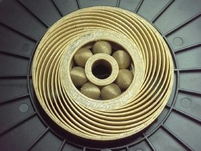 Airless Tire with Bearings