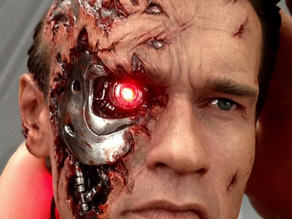 T2 TERMINATOR BATTLE DAMAGED BUST