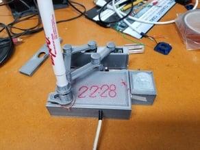 plot thermometer / clock EXPO pen parts