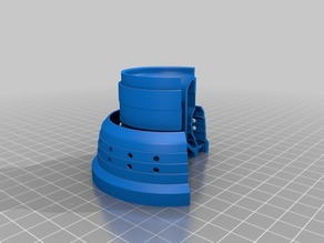 3D printable Jet Engine - Combustion Lining