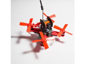 3D 85 brushless swift (runcam micro swift upgrade)