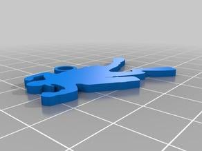 Scuba Sidemount keychains
