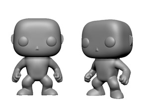 figurine pop 3d model