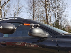 Kabe logo for caravan mirrors