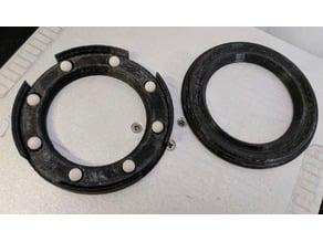 Thrust bearing Ø 80mm / 160mm, self enclosing, 6mm ball Ø