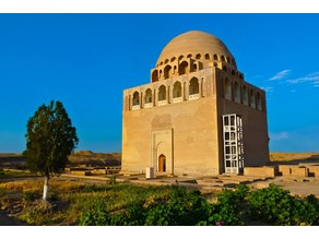 Ancient Merv-Sultan Sanjar Mausoleum, Turkmenistan