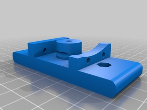 Budas adapter for Prusa i3 Rework extruder