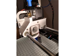 Anet A6 Direct Drive E3D v6 X Carriage