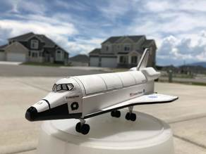 Space Shuttle Model Rocket (based on Estes Baby Bertha)