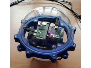 Swimming IoT satellite