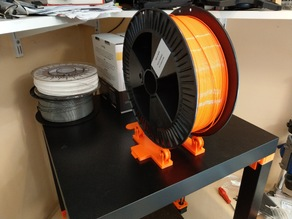 Spool holder with ball bearing large
