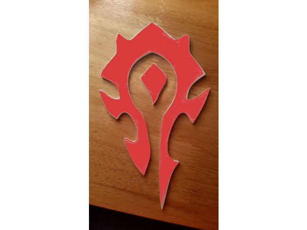Horde Symbol By Apex 3d Thingiverse First, i do not claim any ownership for this symbol. horde symbol by apex 3d thingiverse