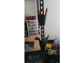 Metal shelving unit Pen / tool holder