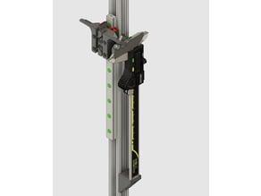 150mm digital caliper mounts for delta printer