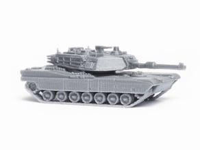 M1 Abrams Tank Model Kit - 05 parts
