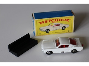 Matchbox 1-75 box stand