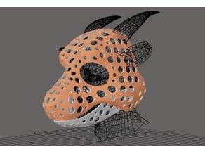Fursuit- or puppet-head base - version 56 - toongoat