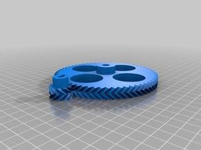 My Customized Parametric Herringbone Gear Set for Stepper Extruders99
