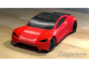 Tesla Roadster 2.0 RC-Car by Alcatraz