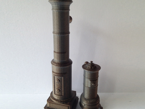 1:24 Antique Scandinavian Stoves