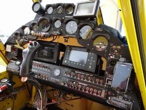 Ag Wagon Cockpit