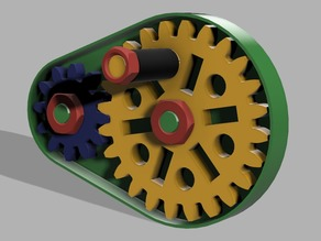 Gearbox with Winder