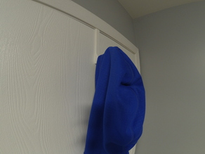 Coat door hanger