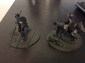 25/28mm Cavalry Bases