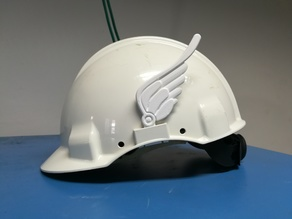 Wings for the hard hat