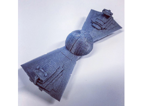 Death Star Destroyer Bow Tie