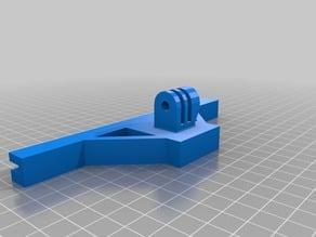 Wanhao / Maker bed mount cam go pro octopi