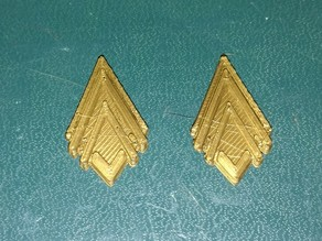 Battlestar Galactica Captain Rank Insignia